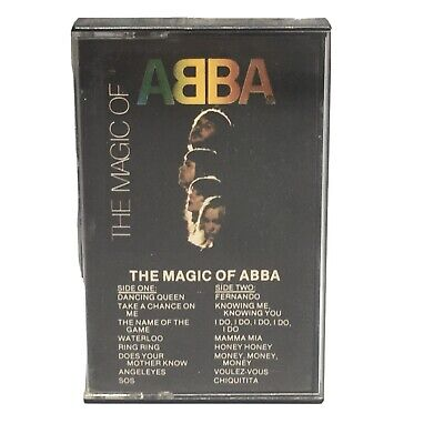 The Magic of ABBA Cassette Tape
