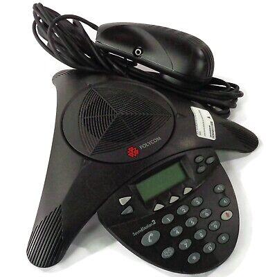 Polycom Soundstation 2 Expandable Conference Phone 2201-16200-601 New Open Box