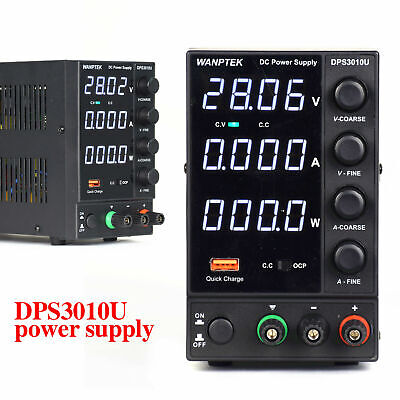 Us Adjustable Power Supply 300w Dc Variable Digital 0-30v 0-10a Switching Ac110v