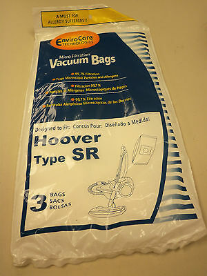 Enviro Care Technologies Vacuum Bags Hoover Type Sr 3 Bags New