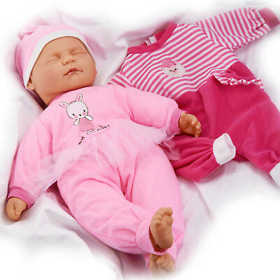 Sleeping Baby Doll in Box New Born Soft Bodied Vinyl Doll with Extra Outfit,18in tweedehands  verschepen naar Netherlands