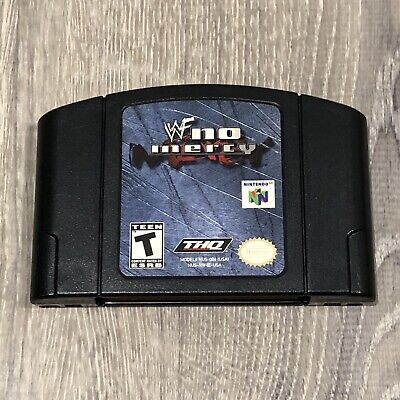 WWF No Mercy N64 (Nintendo 64, 2000) Authentic, Tested, Working