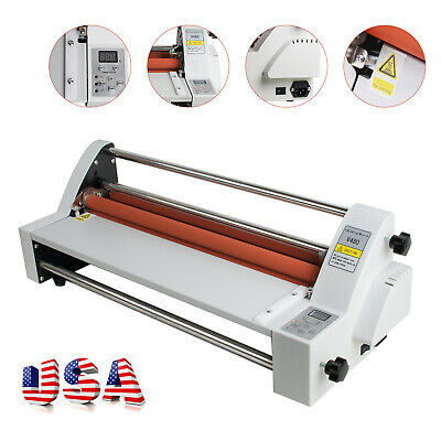 Usa Newest Version 450mm Four Rollers Hot And Cold Roll Laminating Machine