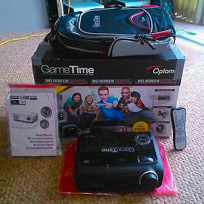 Optoma GT-7000 GameTime Full 3D 1080p HD Ready Gaming Home Cinema HDMI Projector