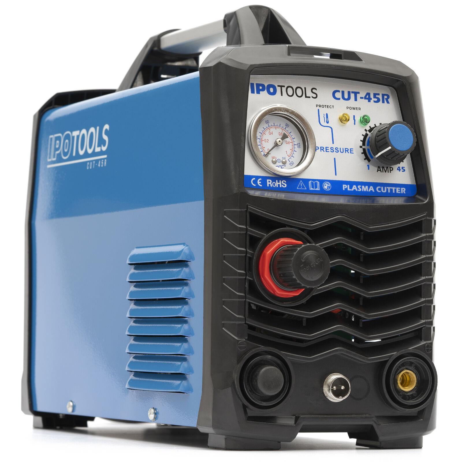 Plasmaschneider CUT 45 Inverter Plasmaschneidgerät HF-Zündung IGBT Plasma Cutter