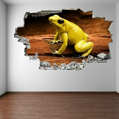 Poison Dart Frog Rainforest Animal Wall Art Stickers Mural Decal Home Decor FA6