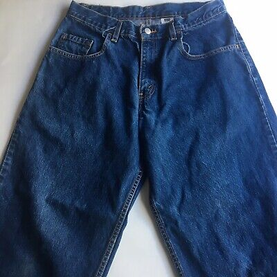 Vintage Levis Silvertab Mens Blue Jeans 32x32 Made In USA 100% Cotton