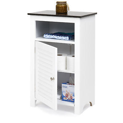 BCP Bathroom Floor Storage Cabinet