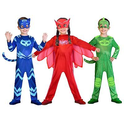PJ Masks Owlette Catboy Gekko Fancy Dress Costume Book Week Girls Boys Kids - Costume Book