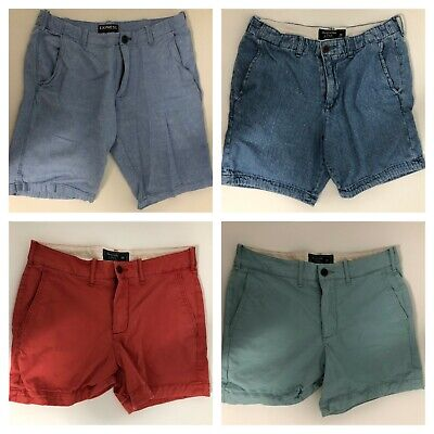 MENS Express and Abercrombie & Fitch Casual Shorts Size: 28