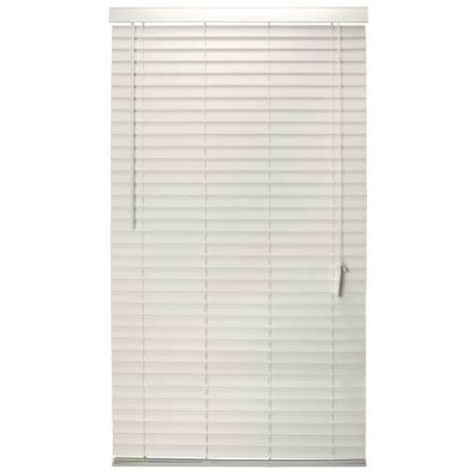 """2"""" Faux Wood Blinds White Various Width all 72"""" Long-- FREE"""