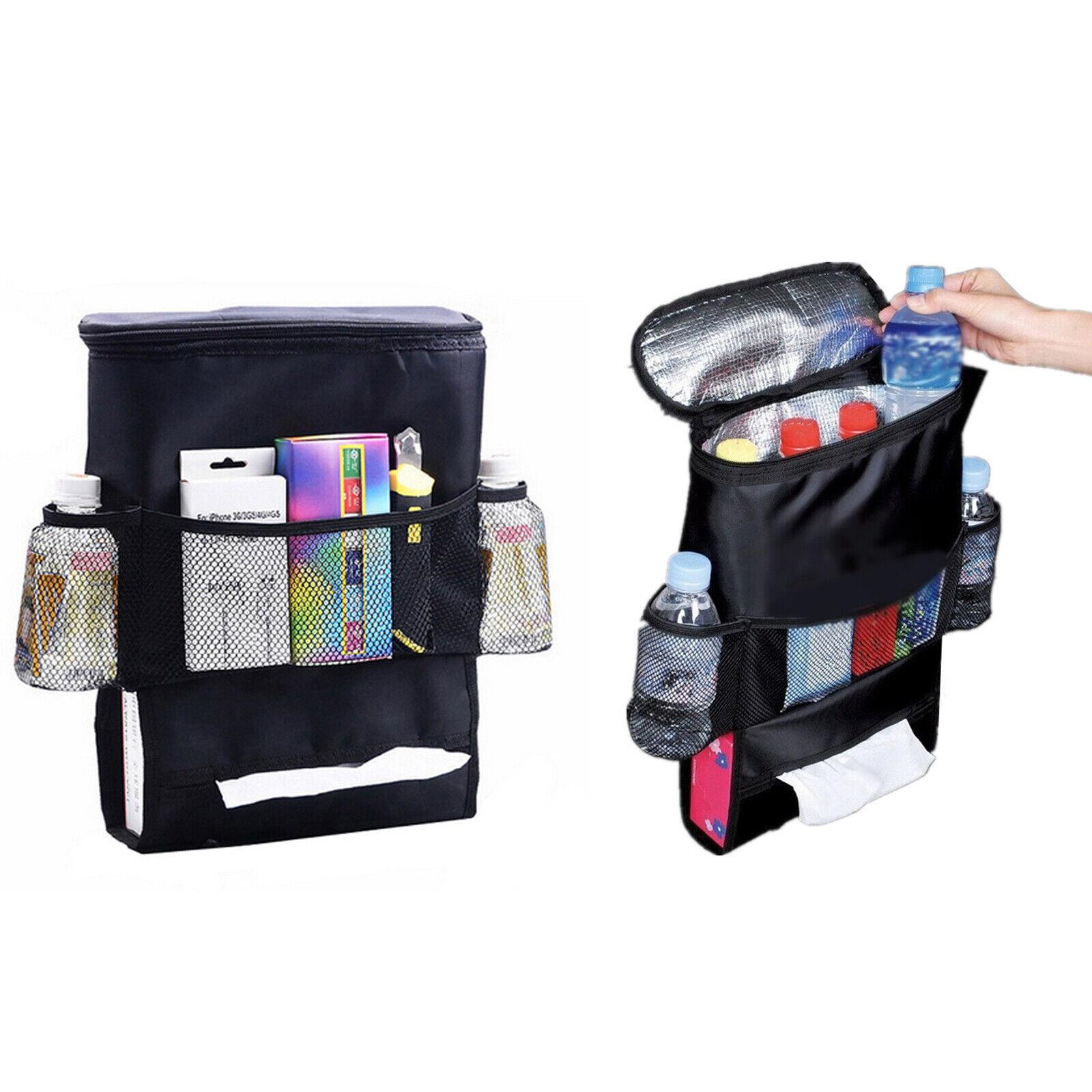 TelDen Car Seat Storage Bag Auto Multi-Pocket Felt Covers Organizer Storage Holder Seat Back Organizers