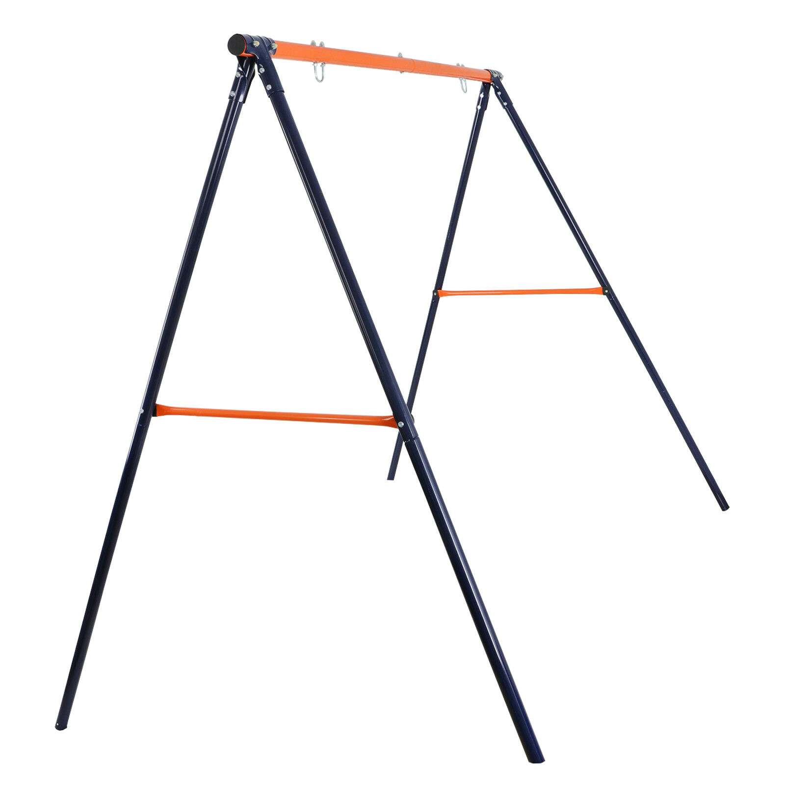 """A-Frame Swing Stand Yard Lawn Playground + 48"""" Spider Web Tree Swing Net Garden Outdoor Toys & Structures"""