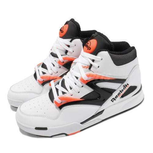 Reebok Pump Omni Zone II 2 Dee Brown White Orange Black Men Basketball G57540
