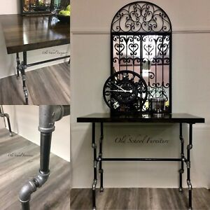 Industrial pipe kitchen island or high top desk