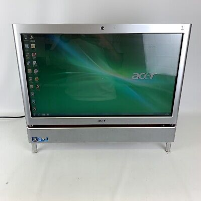 Acer Aspire Z5610 All in one touchscreen desktop computer and TV 6gb 500gb