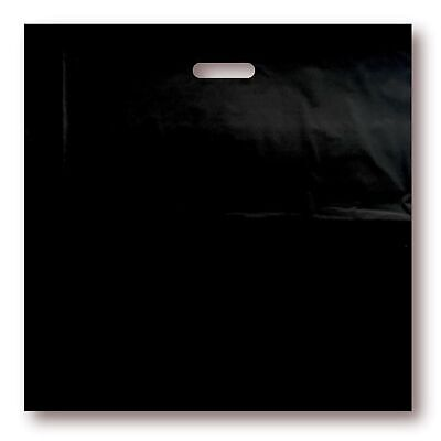 100 Pack 20 X 20 With 2 Mil Thick Extra Large Black Merchandise Plastic Bags