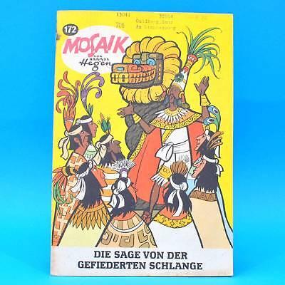 Mosaik 172 Digedags Hannes Hegen Originalheft | DDR | Sammlung original MZ 19