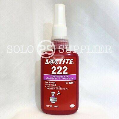 Loctite 222 Low Strength Threadlocker - 50ml