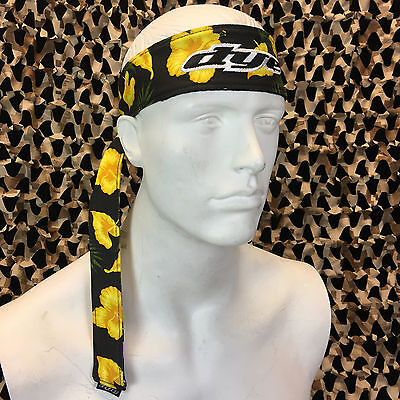 - NEW Dye Paintball Headband Protective Tying Head Band - Floral Flowers