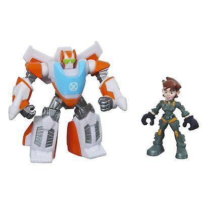 Playskool Heroes Transformers Rescue Bots Blades The Flight-Bot and Dani Burn...
