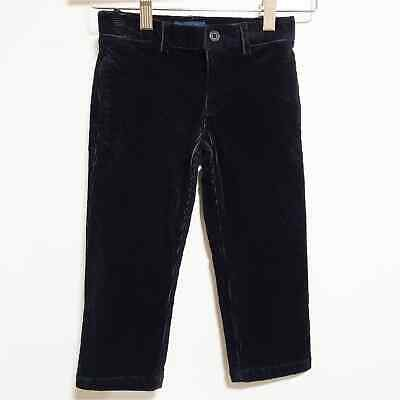 POLO RALPH LAUREN NEW NWT Toddler Black Corduroy Pants Size 2 2T SHIPS NOW