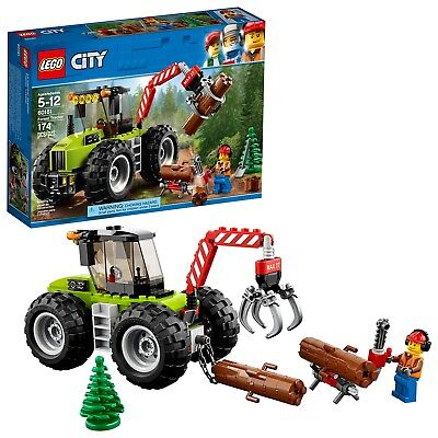 LEGO® City Great Vehicles - Forest Tractor 60181 174 Pcs