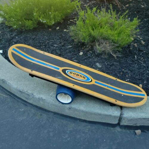 Bongo Board Skateboard Surf Snowboard Balance Core Training Exercise Workout