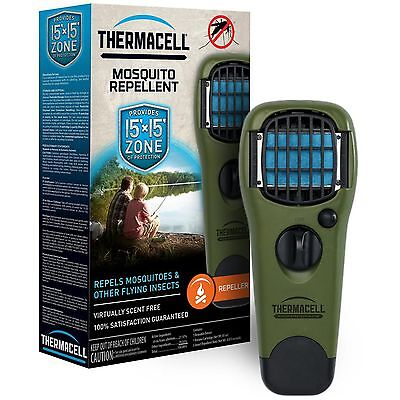 New ThermaCell Olive Immature Mosquito Repeller MR-GJ