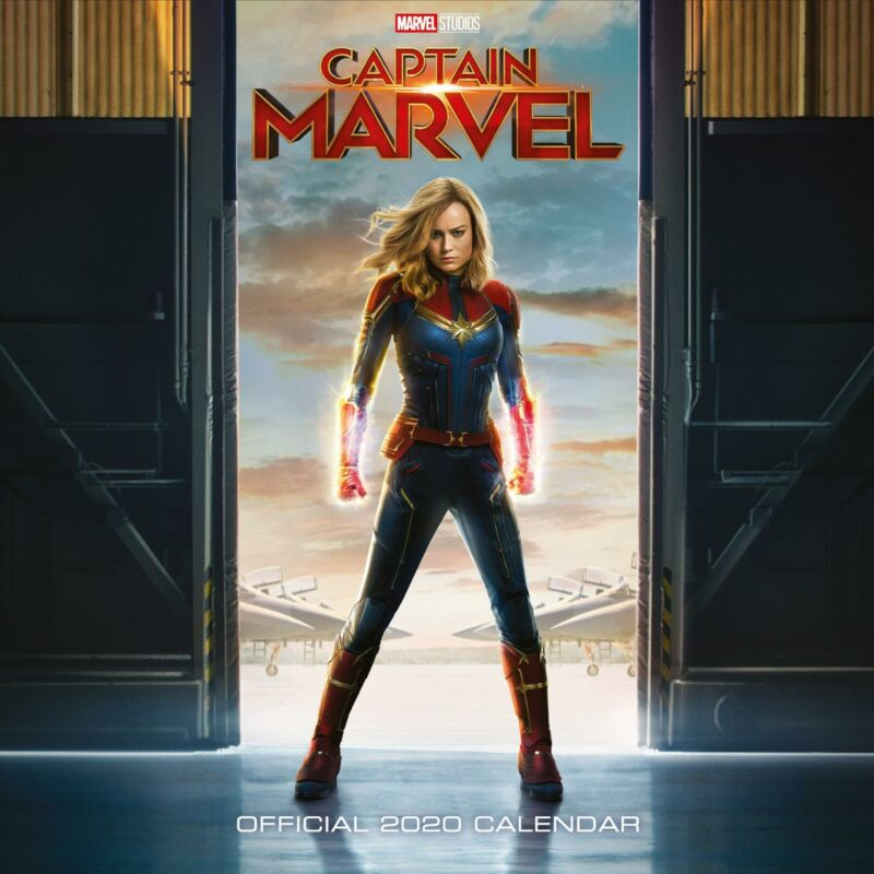 Captain+Marvel+2020+Official+Square+Wall+Calendar