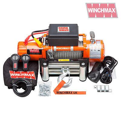 Cabrestante Eléctrico 12V 4x4 6123.5kg WINCHMAX Marca - Recovery- Off Road -