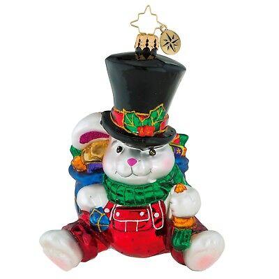 [Christopher Radko Ornaments - HUNDRED CARROT SMILE Christmas Ornament 1019159</Title]