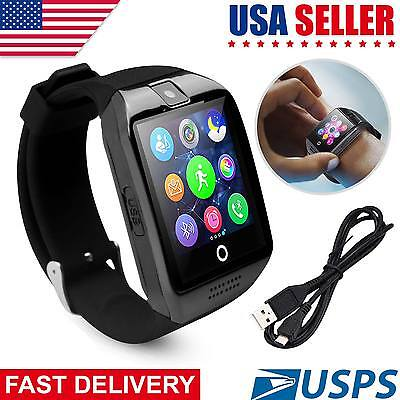 Bluetooth Smart Watch Q18 Wrist Waterproof GSM Phone For iPhone Android Samsung
