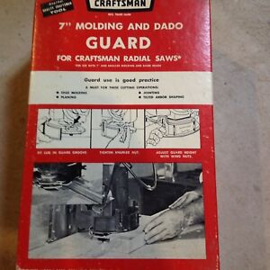 "CRAFTSMAN 7"" MOLDING AND DADO GUARD"