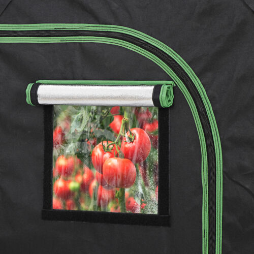 24″x24″x36″ Mylar Hydroponic Grow Tent with Observation Window and Floor Tray Complete Growing Kits