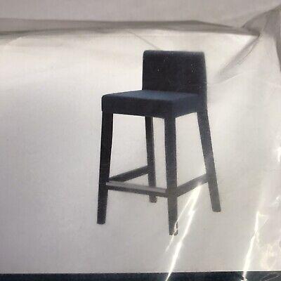 Ikea Chair Cover Bar Stool With Backrest Skiftebo Dark Navy Blue tweedehands  verschepen naar Netherlands