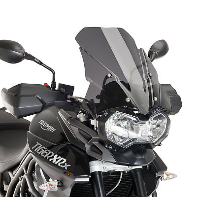 Triumph Tiger 800 / 800 XC 2011-2017 Puig Touring Screen Dark Tint Smoke