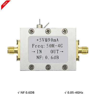 0.05-4ghz Amplifier Ultra Low Noise Amplifier Lna Module Input -110dbm Nf 0.6db