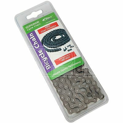 Sport Direct Bike Cycle Superior Bicycle Chain 5//6 Speed Multi Gear 116 Links