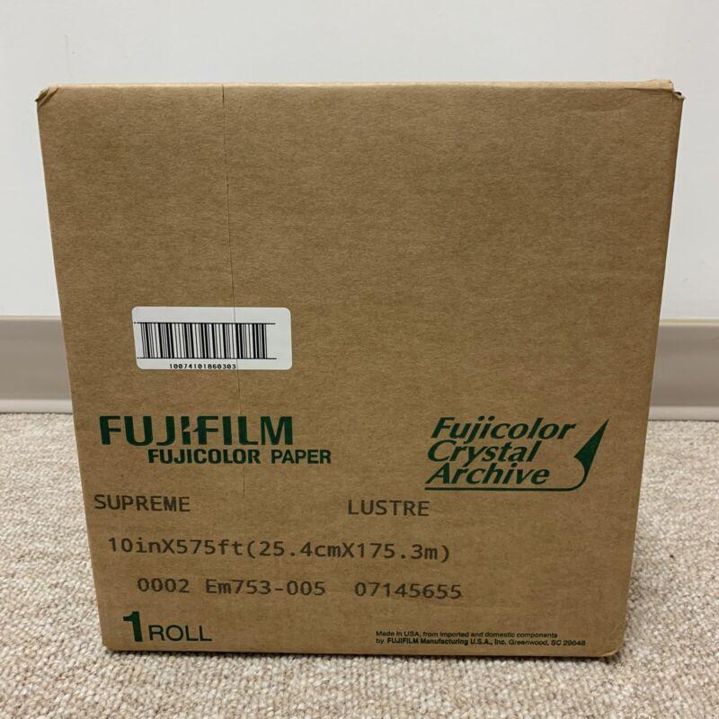 Fujifilm Fujicolor Supreme Lustre Crystal Archive 10inx575ft *1 ROLL*