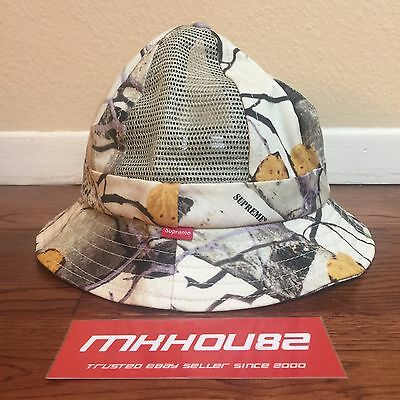 a5607685 New Supreme Aspen Wood Bell Hat Crusher Bucket Cap Spring Summer 2014 Size  S / M