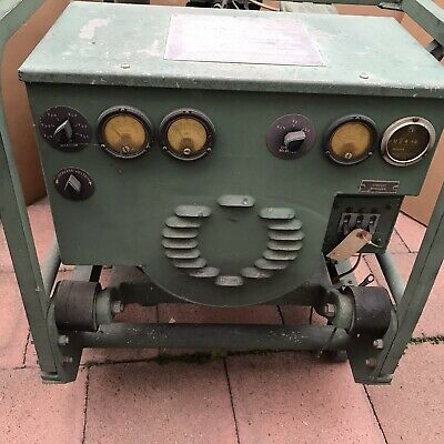 Military Generator Mep-016c 3kw 120240v With 4a302-3 4 Cyl Engine