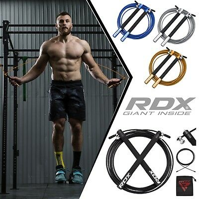 RDX Skipping Rope Jumping Speed Cable Adjustable Weight Loss Fitness Exercise