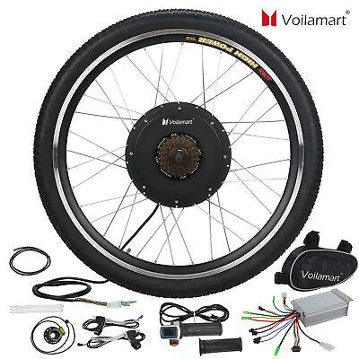 "26"" Rear Wheel 36V 500W Electric Bicycle Ebike Conversion Kit Hub Motor"