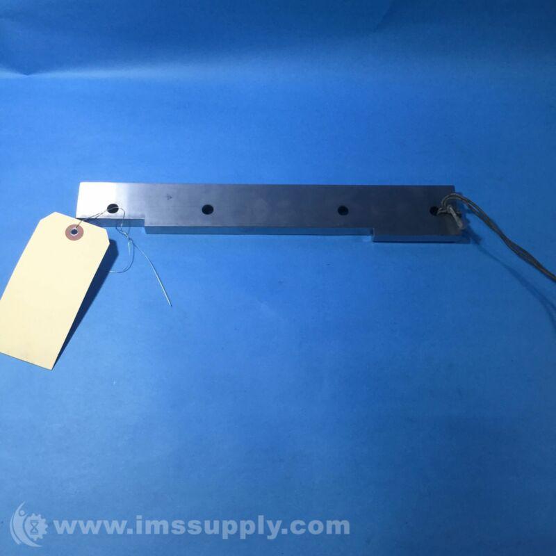 Daihen DWG # 50004J12 Machined Cam Plate, 4 Holes, 9 mm Diameter USIP