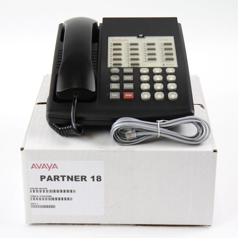 Partner 18 Euro Series 1 Black Avaya Phone - Bulk
