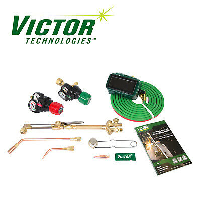 0384-2125 Victor Performer Torch Kit Set With Regulators - Replaces 0384-2045