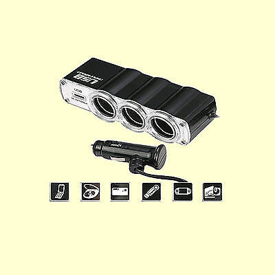12V KFZ Adapter USB Mehrfachstecker Verteiler Zigarettenanzünder Auto Steckdose 12v-kfz-adapter