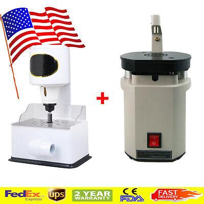 Us Dental Laser Drill Pin Machine Grind Inner Model Arch Trimmer Machine