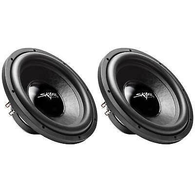 (2) SKAR AUDIO IX-12 D4 12